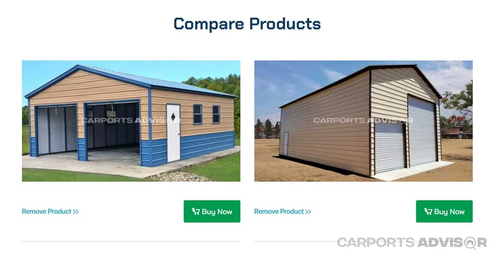 Compare Metal Buildings