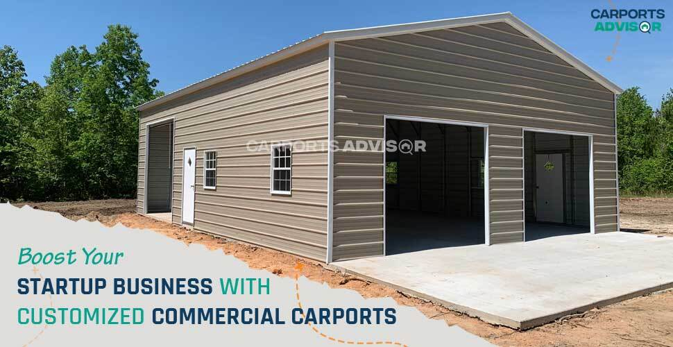 Boost Your Startup Business with Customized Commercial Carports